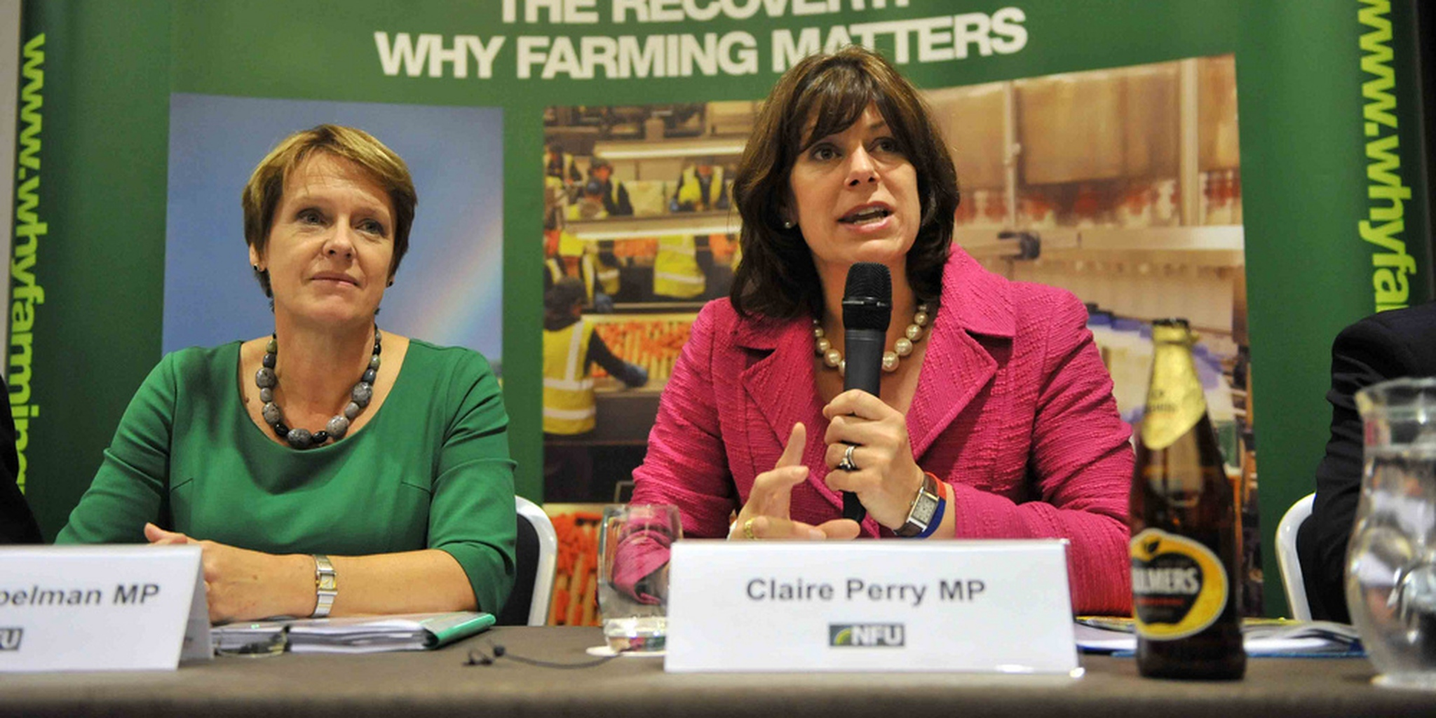 NFU fringe event - Caroline Spelman and Claire Perry   Flickr - Photo Sharing!