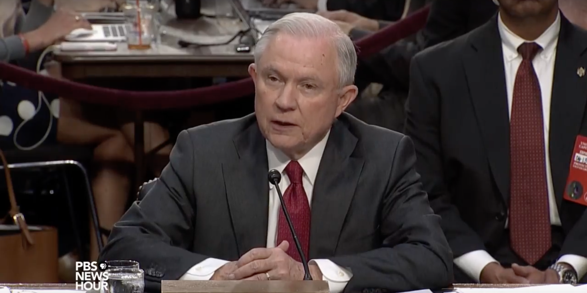 Jeff Sessions Testimony Before Senate Intelligence Committee