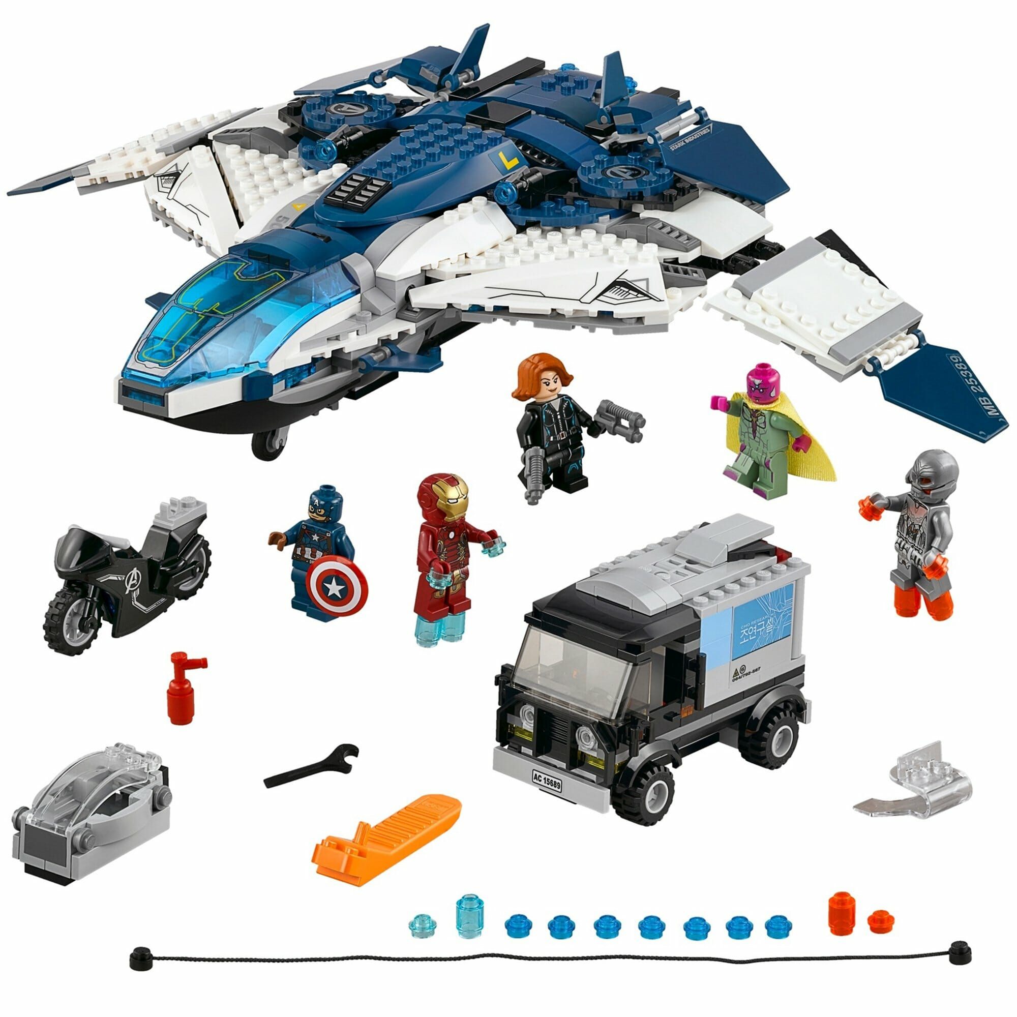marvel lego sets : Avengers Quinjet City Chase