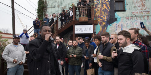 AUSTIN, TX - MARCH 12:  GZA performs at the Soylent and Trish Austin Party on March 12, 2017 in Austin, Texas.  (Photo by Rick Kern/Getty Images for Soylent)