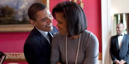 Michelle and Barack celebrate 24 years