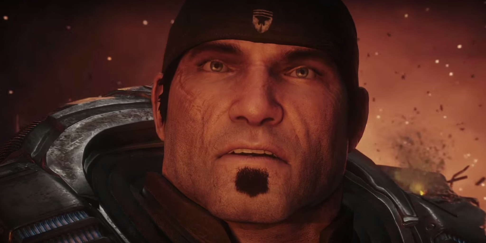 Screengrab from the Gears of War Ultimate Edition 'Mad World' trailer.