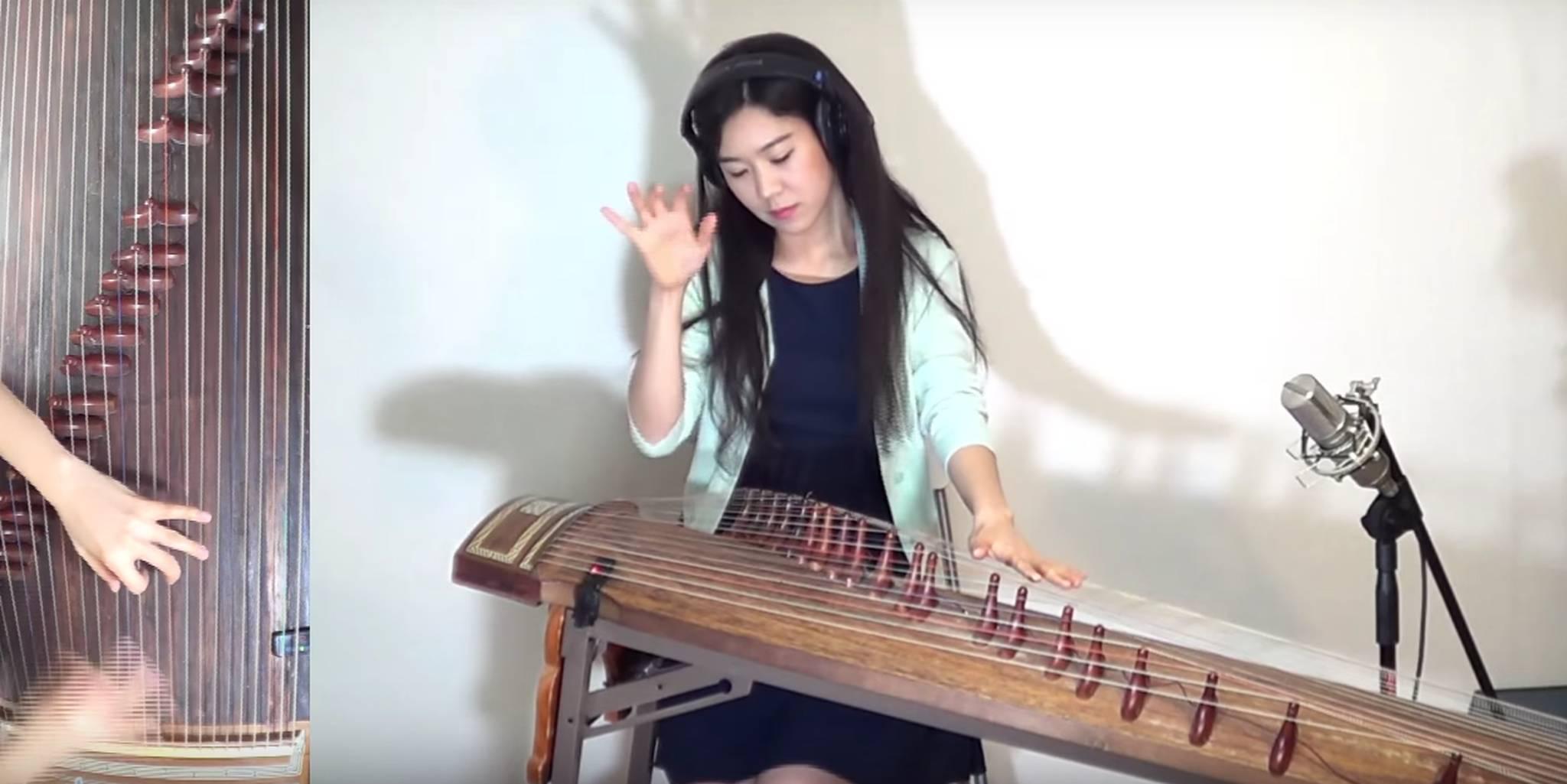 Luna Lee Gayageum korean instrument rock song cover