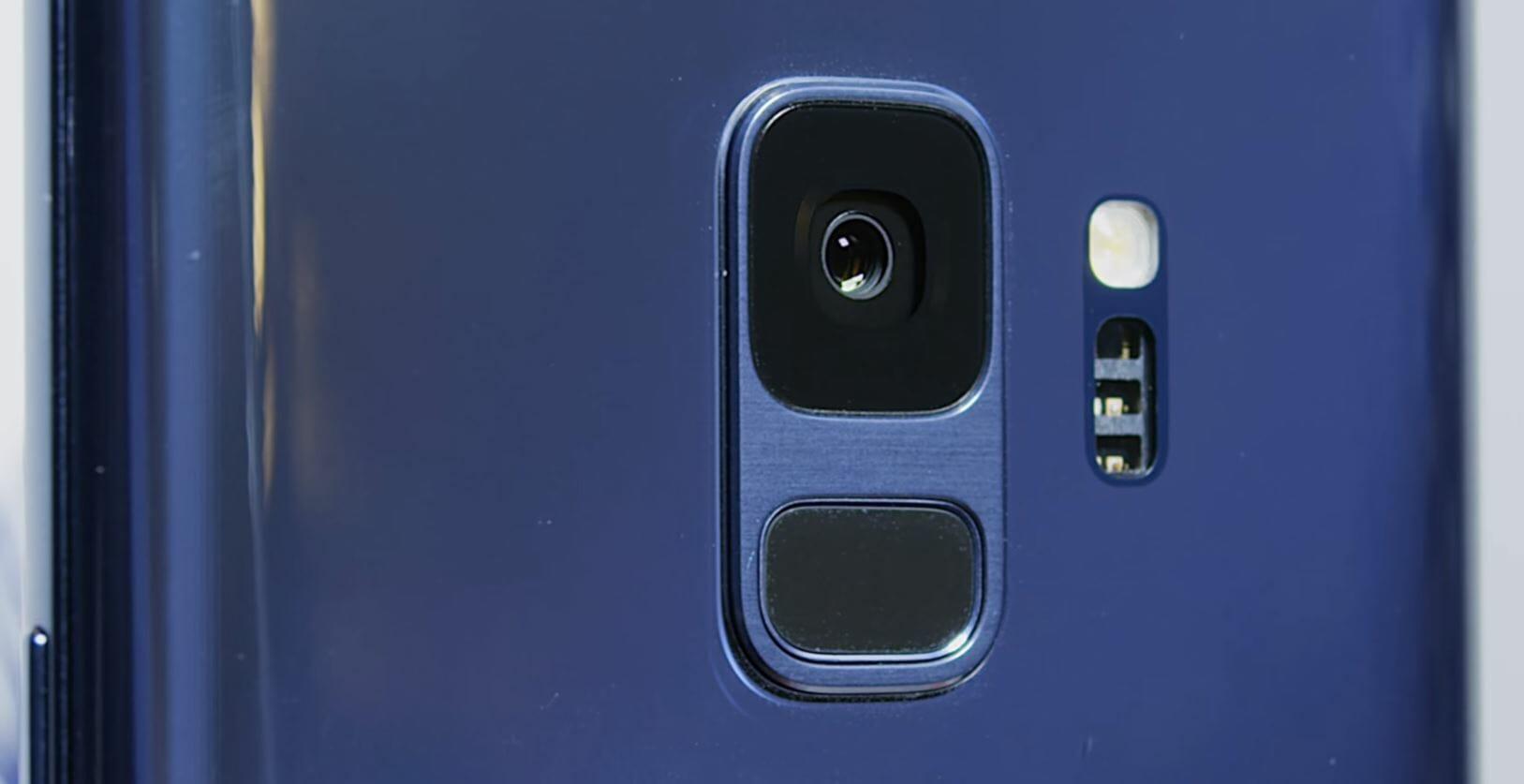 samsung galaxy s9 dual-aperture camera lens
