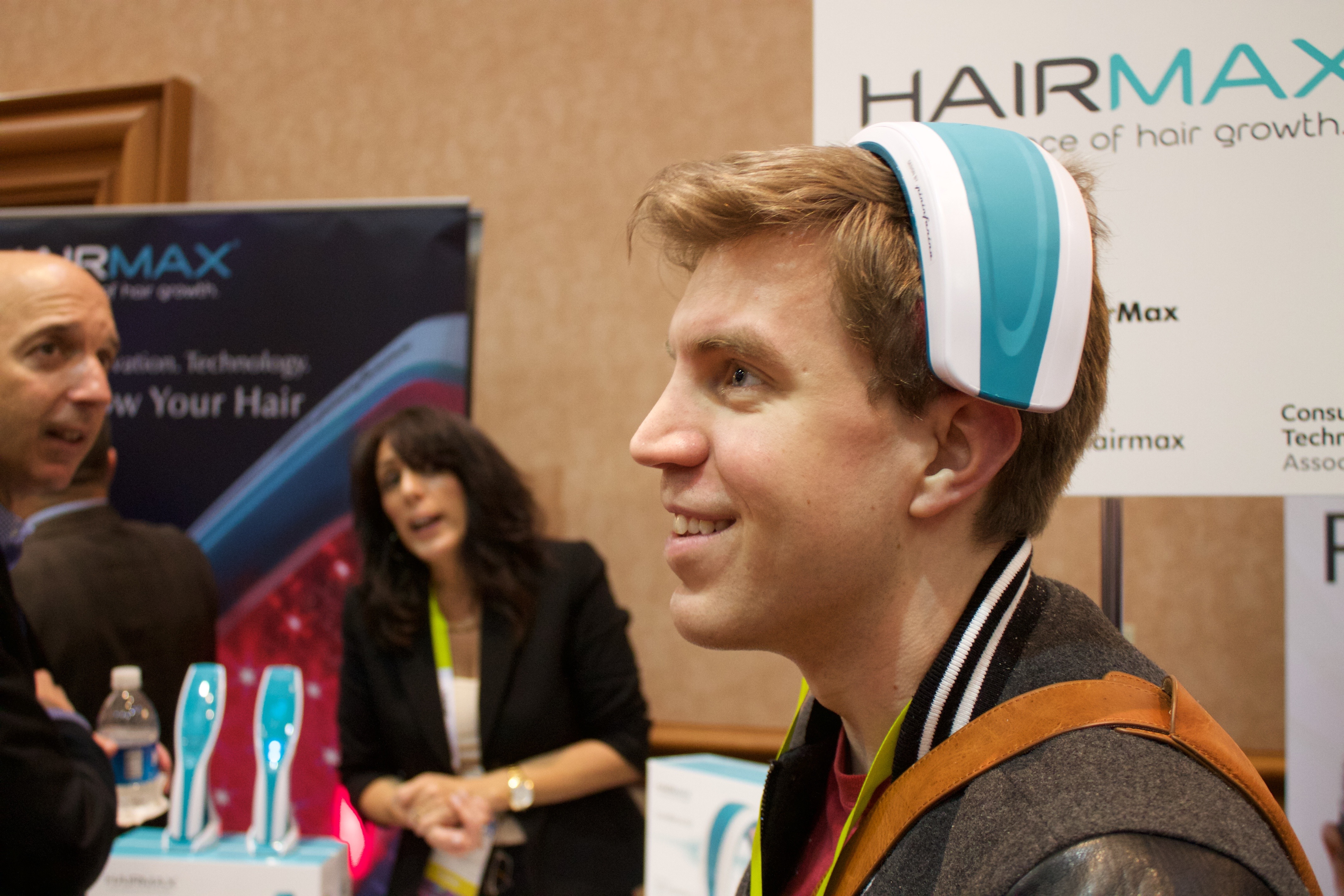 The Laser Hair Growth Devices At Ces Skate By On Shaky
