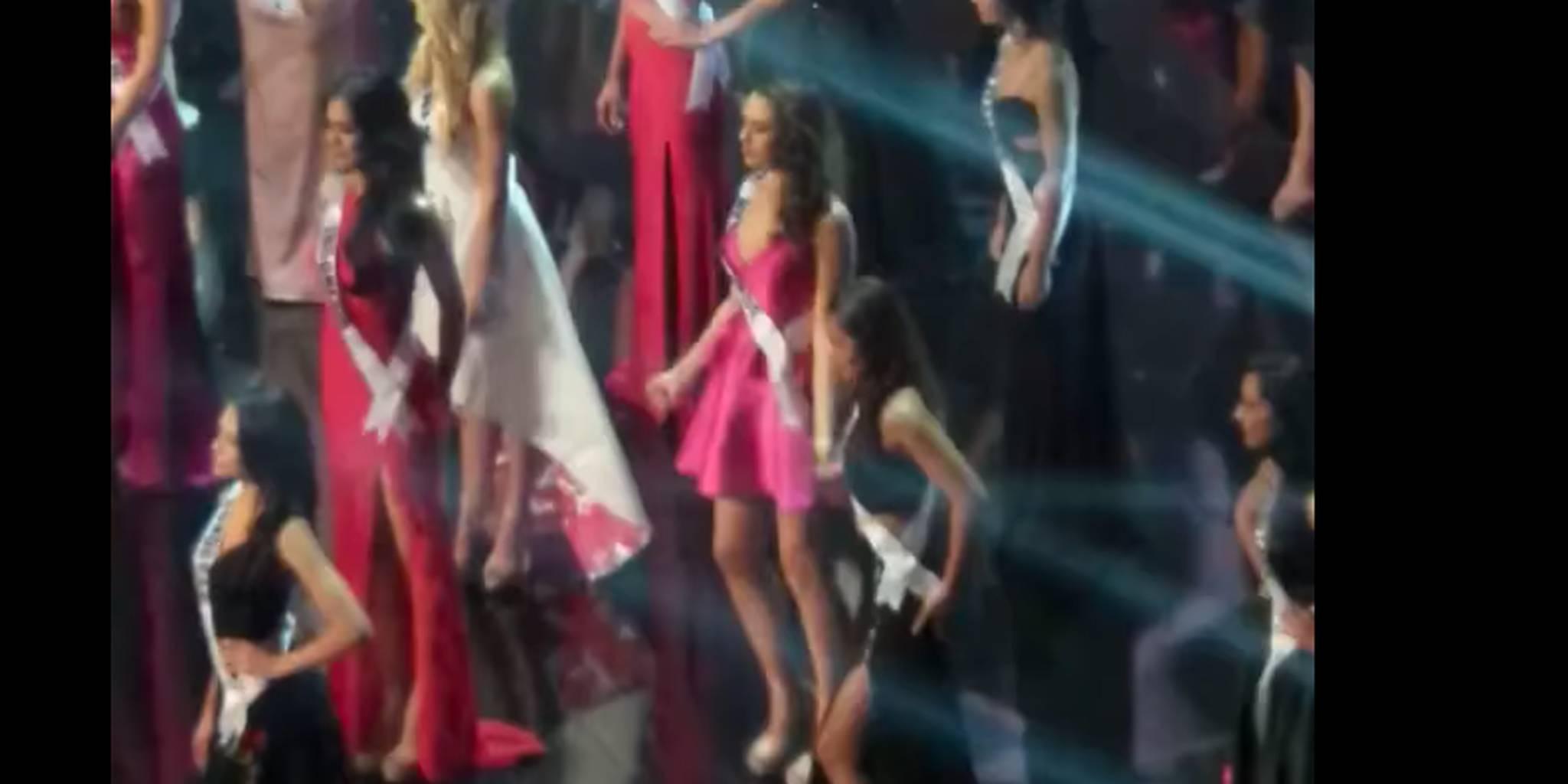 Miss Netherlands' 'Single Ladies' dance during Miss Universe break goes viral
