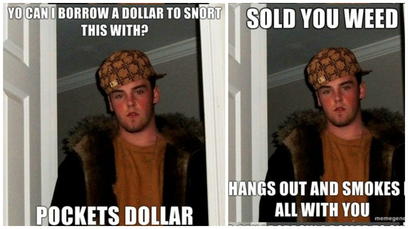Scumbag Steve 13 Things You Don T Know About The Meme