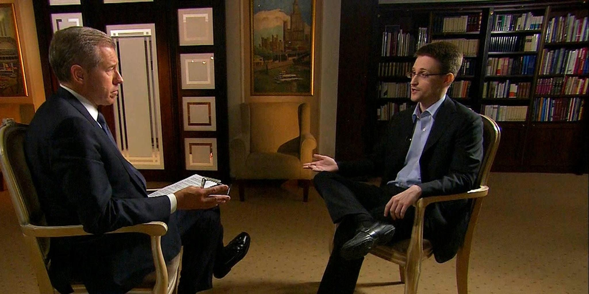 Snowden to Brian Williams: 'I was trained as a spy'
