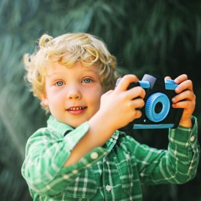 Pixlplay Camera held by small child