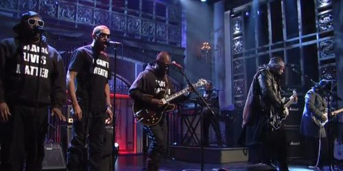 D'Angelo Performs on SNL