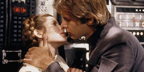 Han Solo and Princess Leia