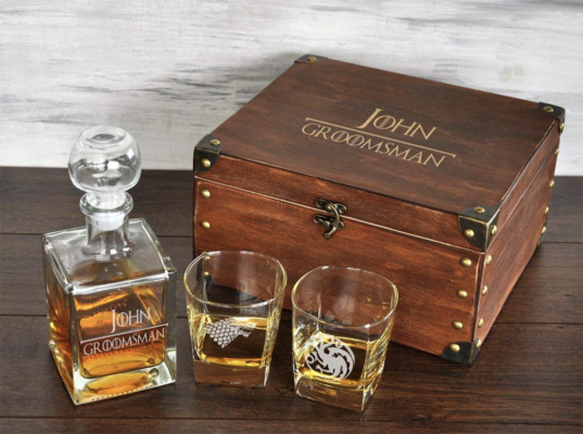 game of thrones whiskey set