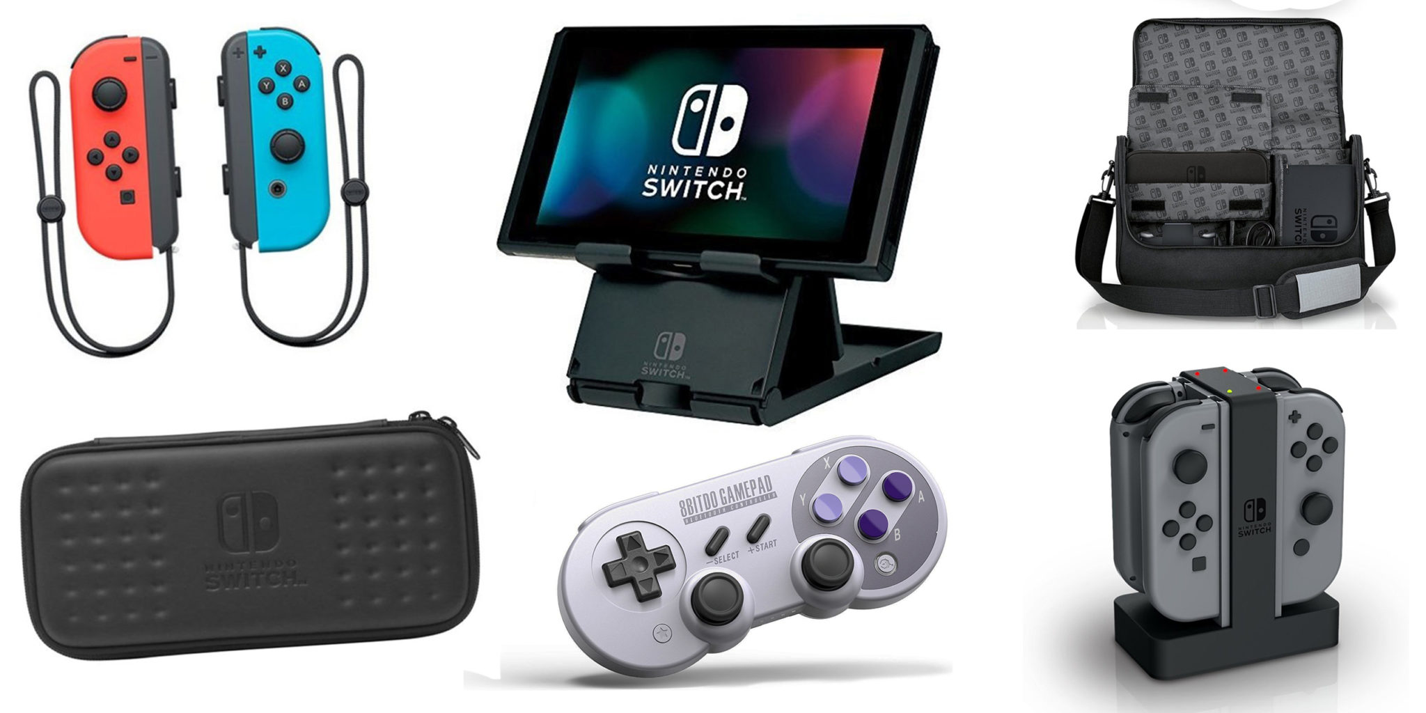 The 12 Best Nintendo Switch Accessories You Can Buy Carrying Case Screen Protector Official