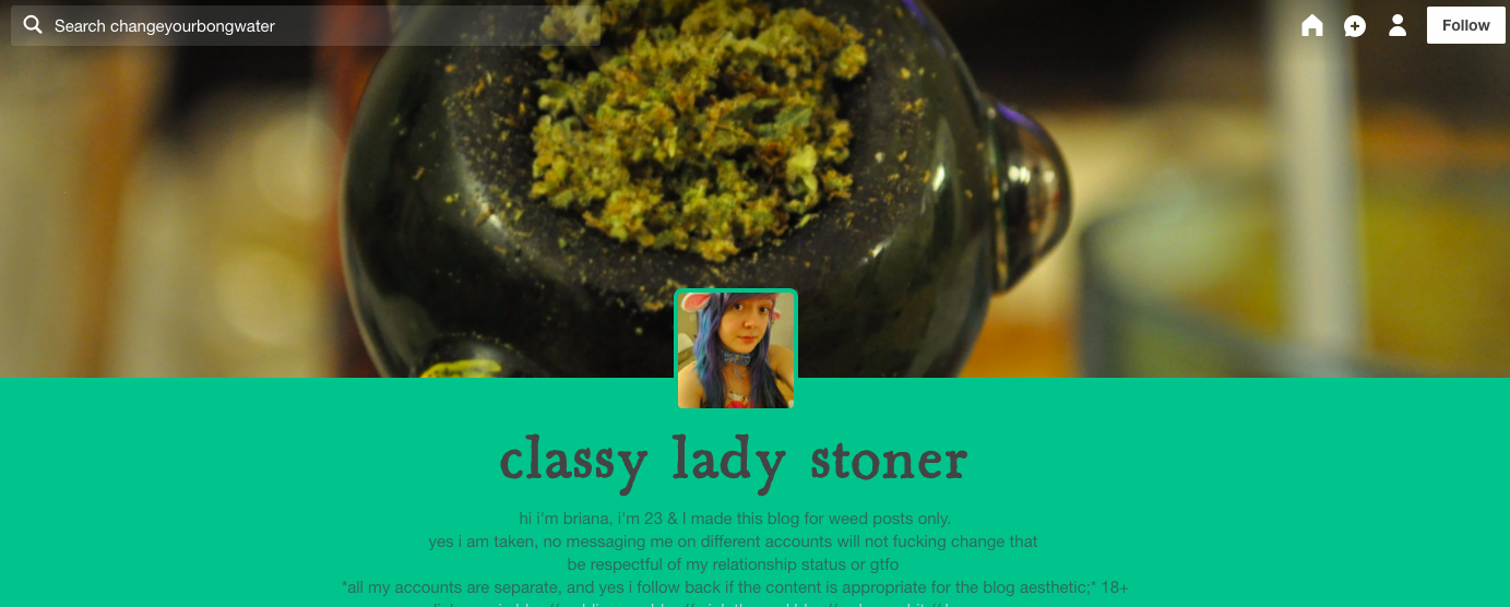 The Headiest Weed Tumblr Blogs for Real Stoners
