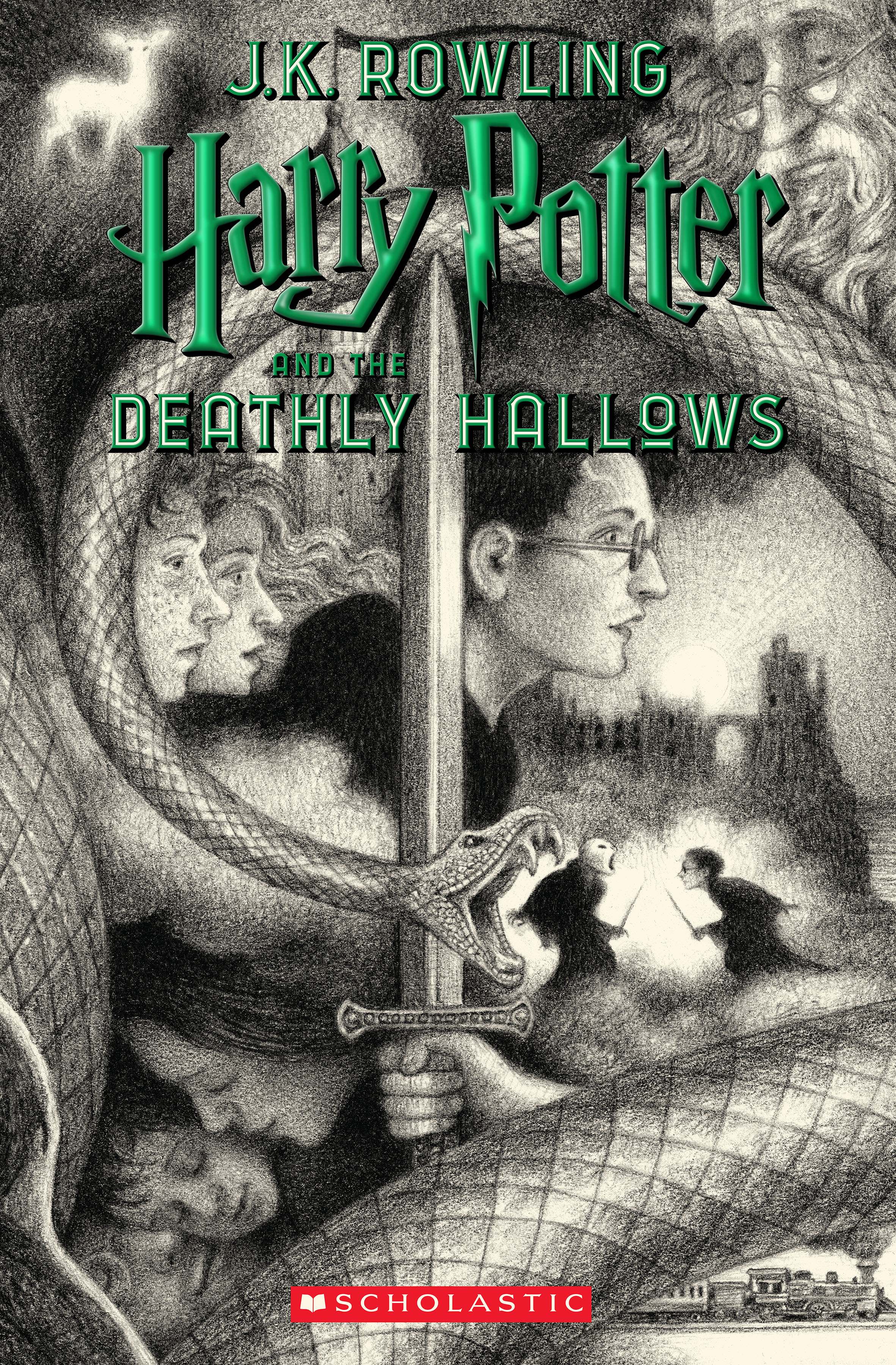 deathly hallows scholastic