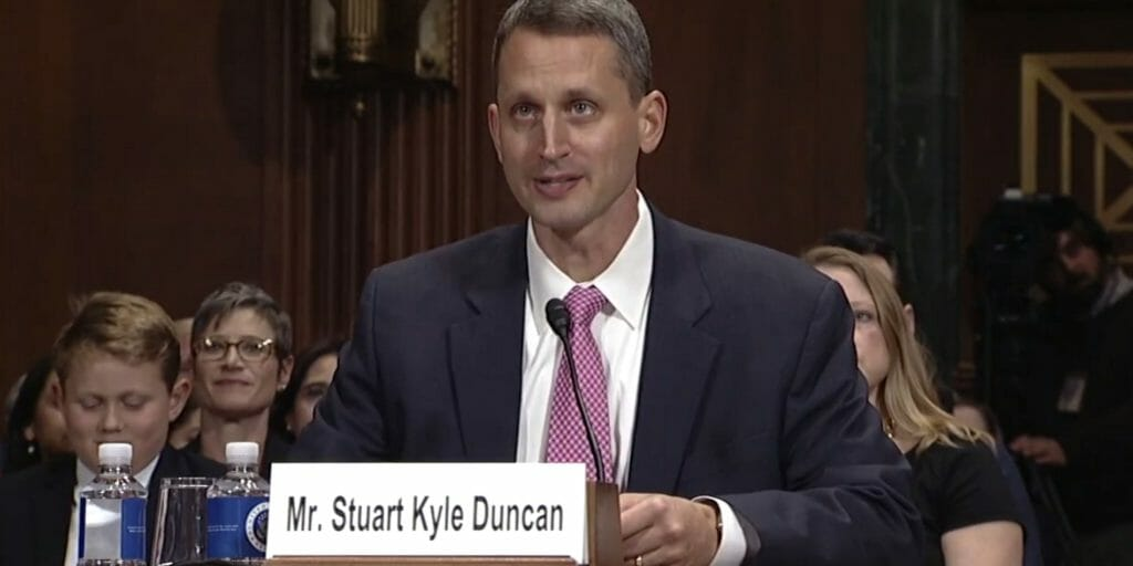 Hobby Lobby lead counsel Stuart Kyle Duncan is set to serve as a federal judge.