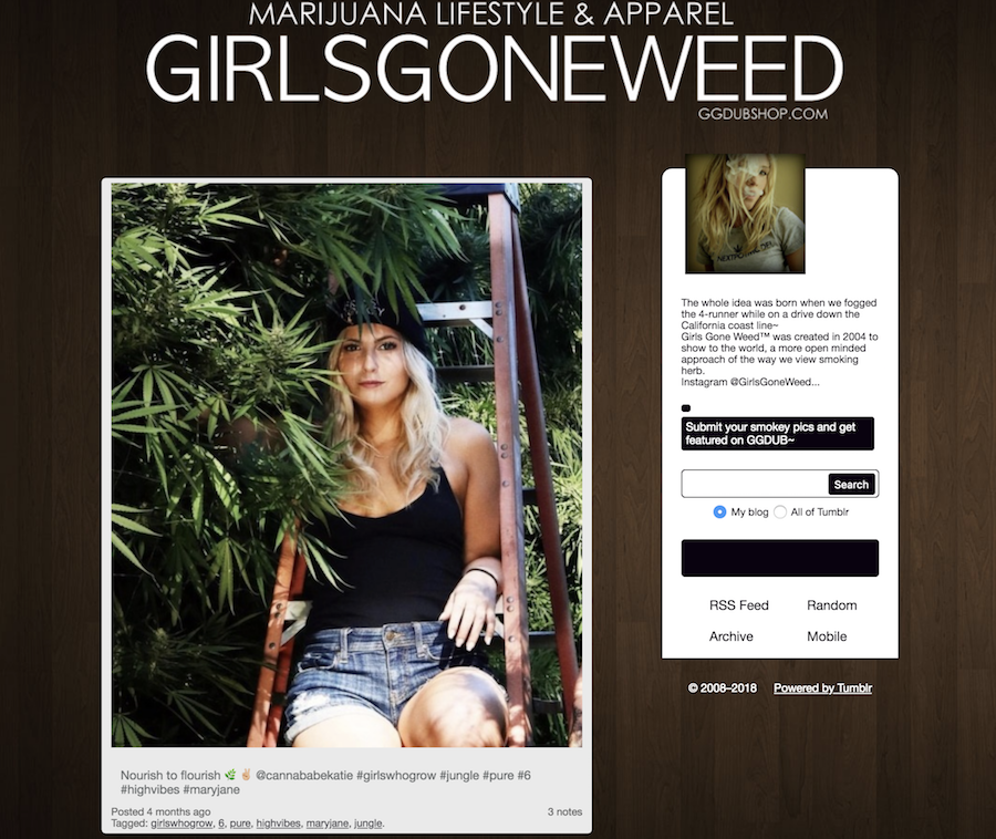 weed tumblr : girls gone weed