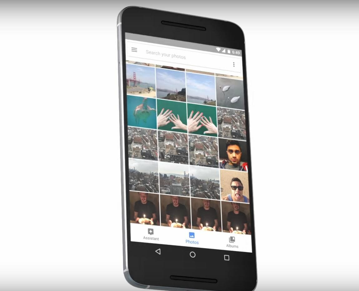 how does google photos work - google photos app android smartphone cloud storage