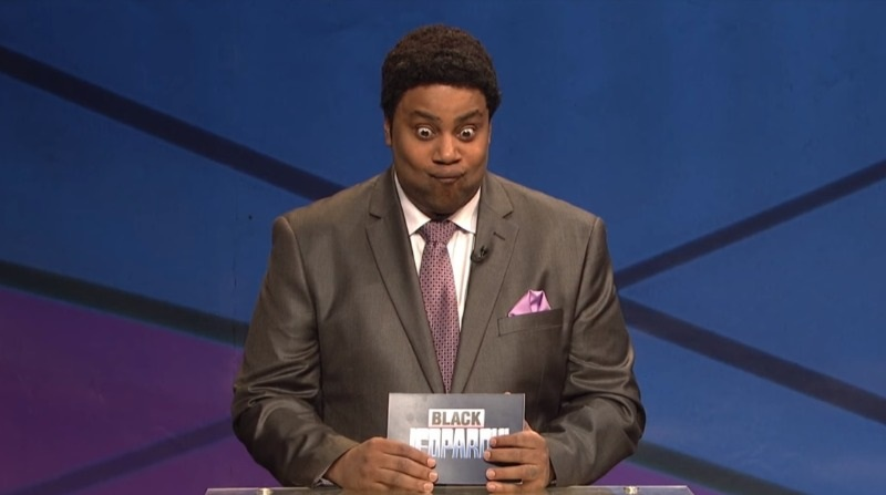 Kenan Thompson Black Panther Black Jeopardy