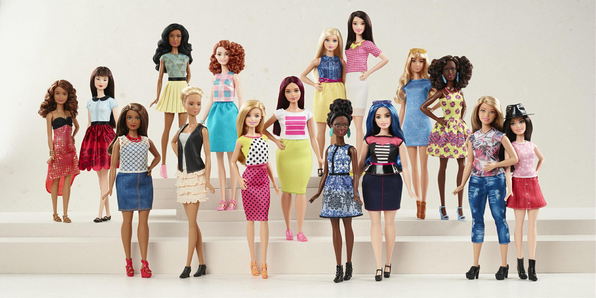 barbie line mattel