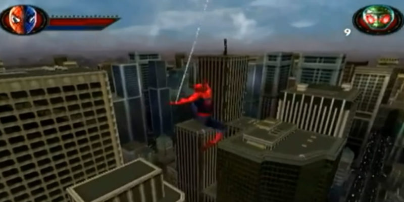 spiderman video games