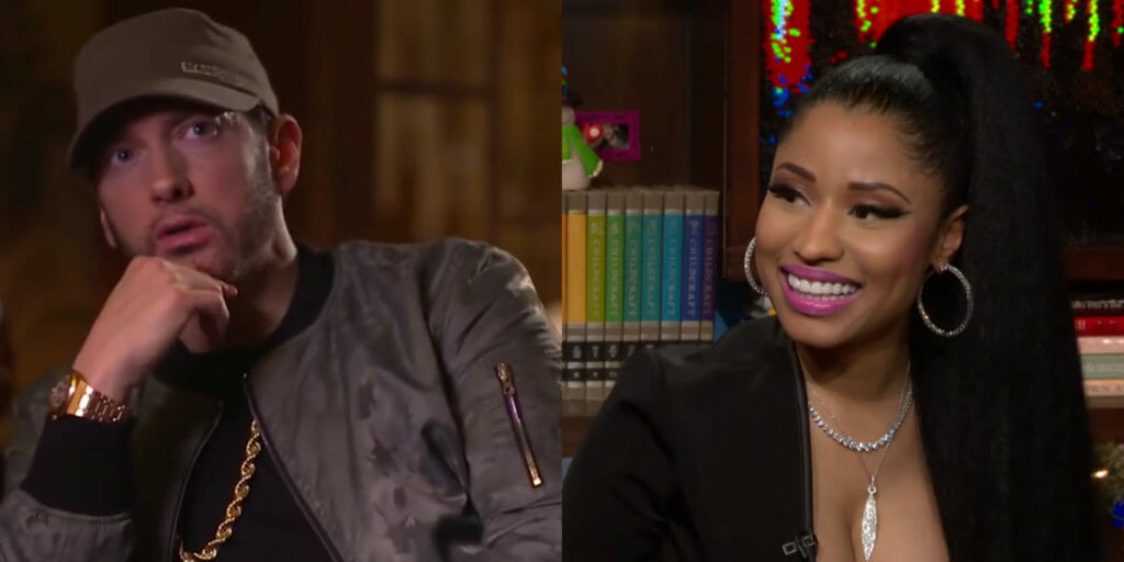 Eminem and Nicki Minaj