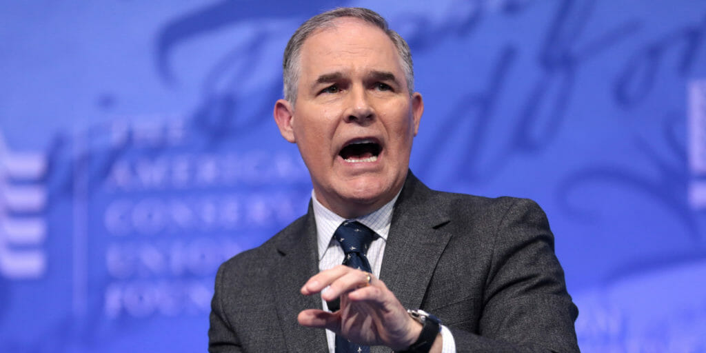 An aide to Environmental Protection Agency (EPA) Administrator Scott Pruitt was tasked with trying to get him an old mattress from the Trump International Hotel–among other personal errands–according to numerous reports.