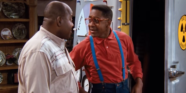 steve urkel and carl winslow