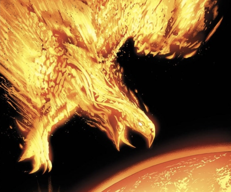strongest marvel characters : the phoenix force