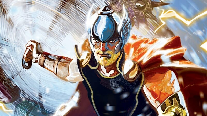 most powerful marvel characters : thor