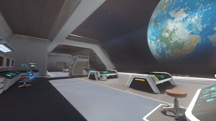 Overwatch Maps list : Horizon Lunar Colony