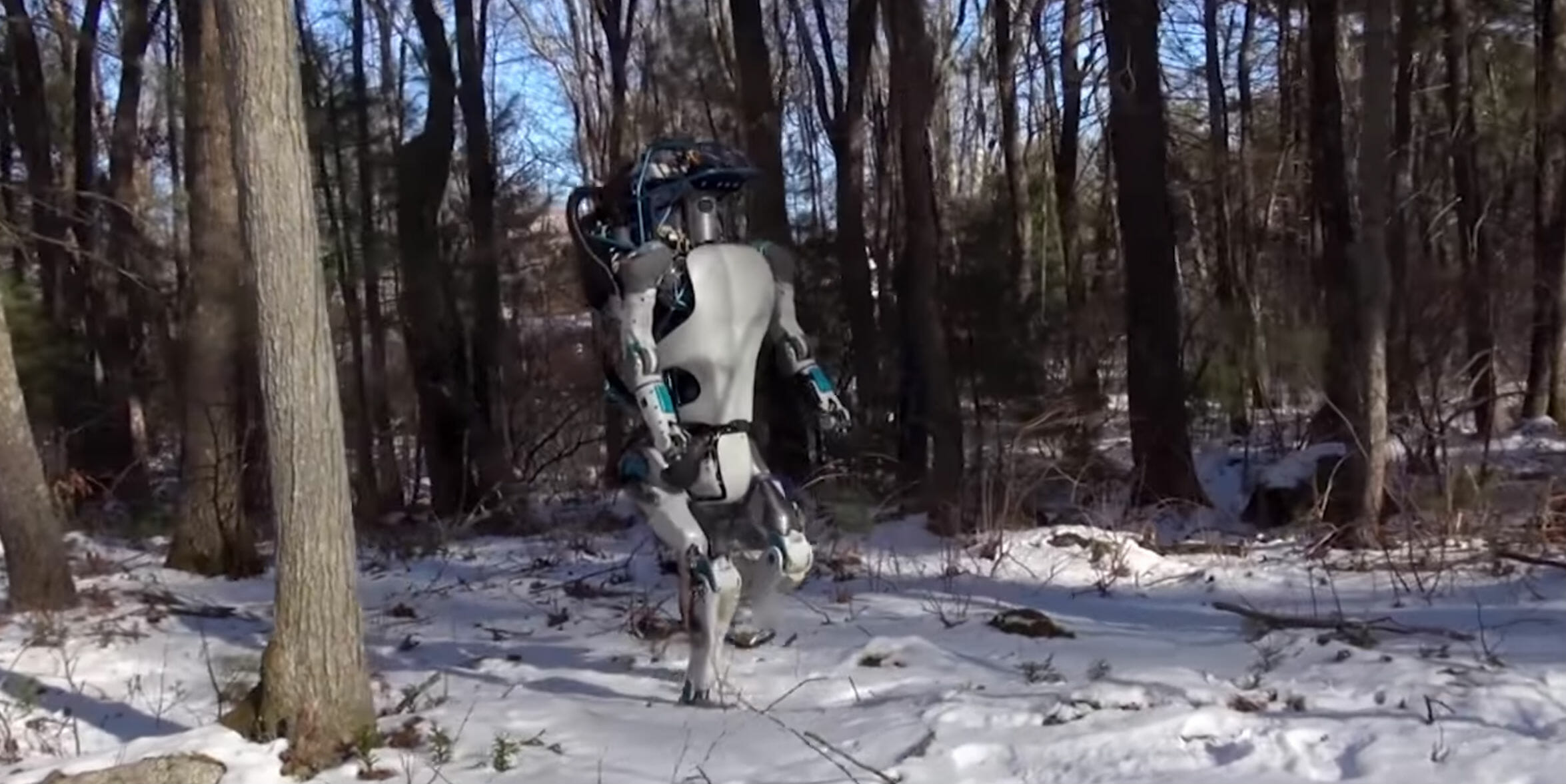 The Boston Dynamics robots can now hunt you in the woods and in the office