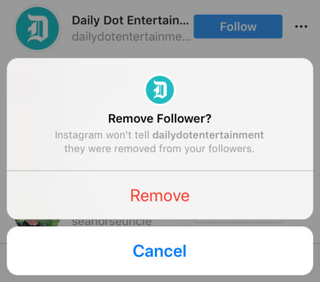 Instagram is testing a new feature that will allow users with public accounts to remove / delete followers.
