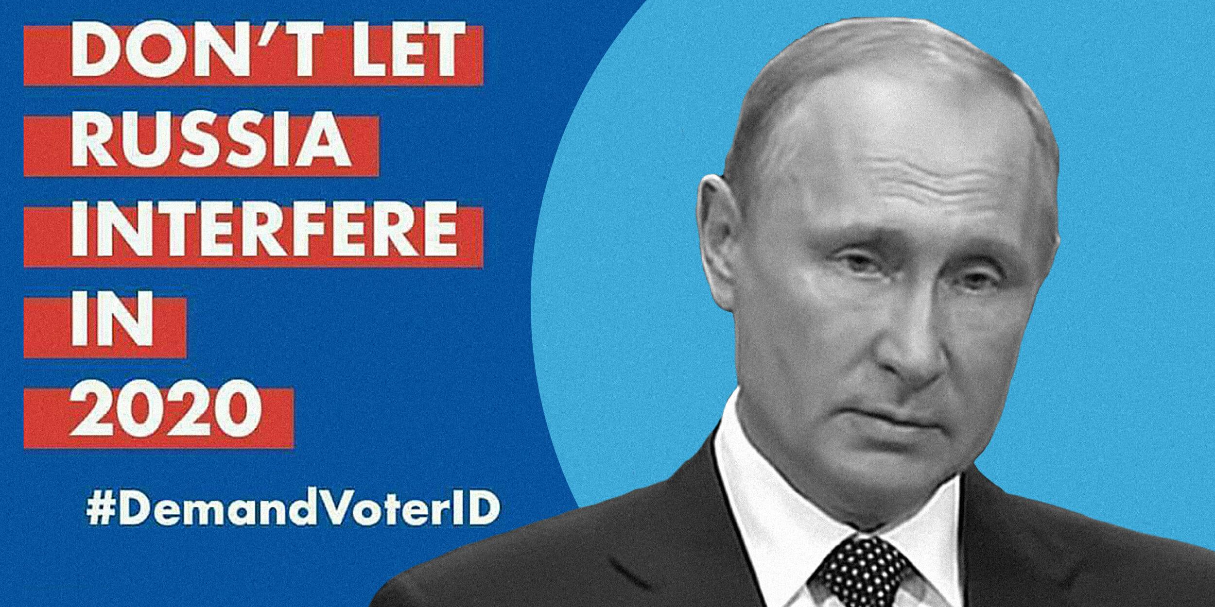 "putin ""demand voter id"" meme"
