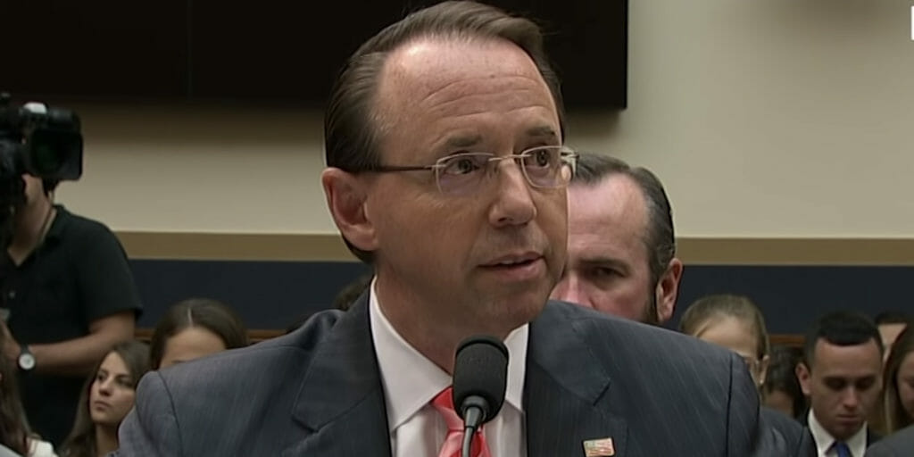 Republican members of the House have drafted articles of impeachment against Deputy Attorney General Rod Rosenstein.