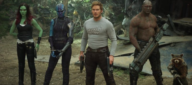 mcu release order - guardians of the galaxy vol 2