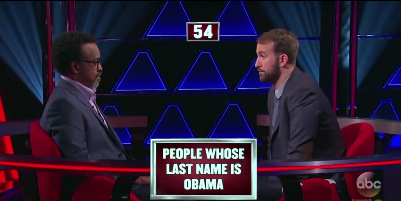 pyramid game show obama bin laden