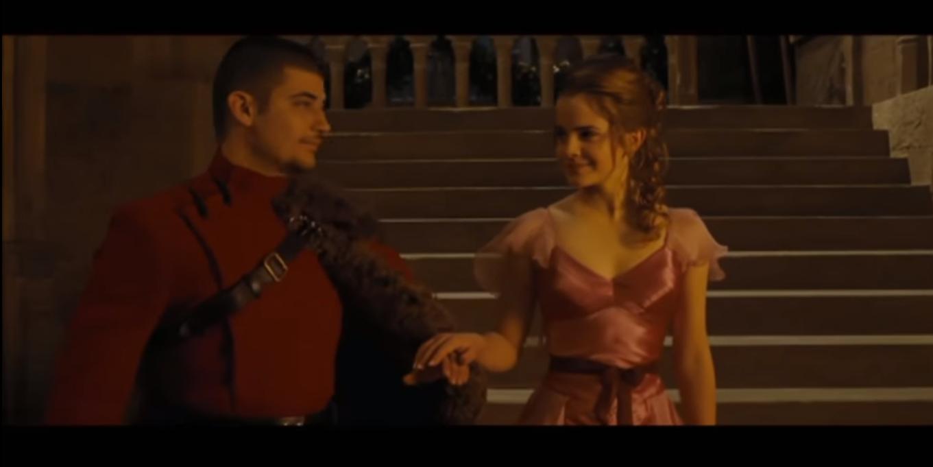 Hermione Granger and Viktor Krum