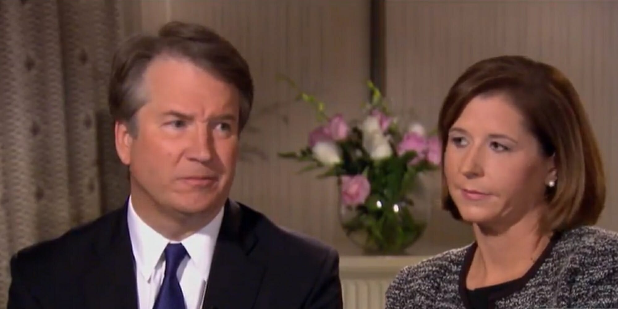 Brett Kavanaugh is under intense scrutiny for interrupting his wife amid sexual assault accusations.