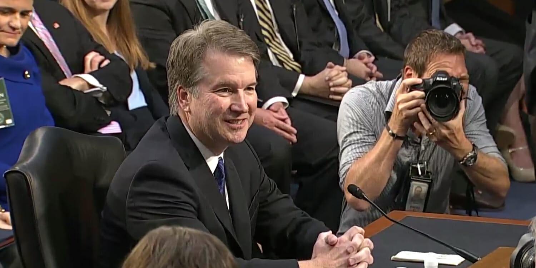 Brett Kavanaugh confirmation hearing