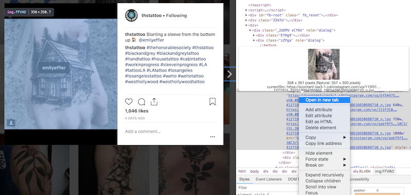 how to download instagram photos