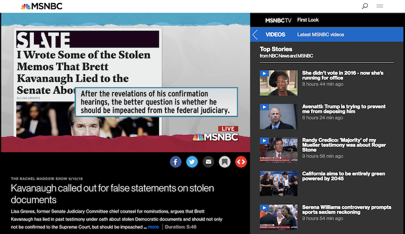 MSNBC Live Streaming: How to Watch MSNBC for Free