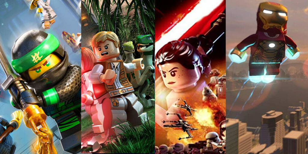Lego Video Games: The 10 Best Lego Games of All Time