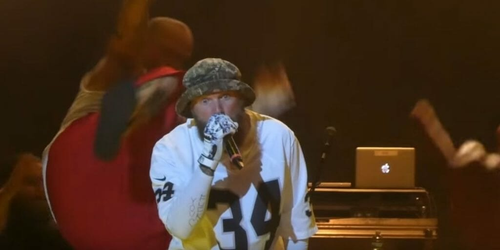 Insane Clown Posse Member Tries to Dropkick Fred Durst Onstage