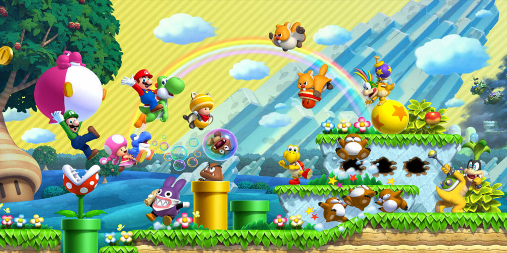 New Super Mario Bros U Deluxe Powers Up A Platforming Classic