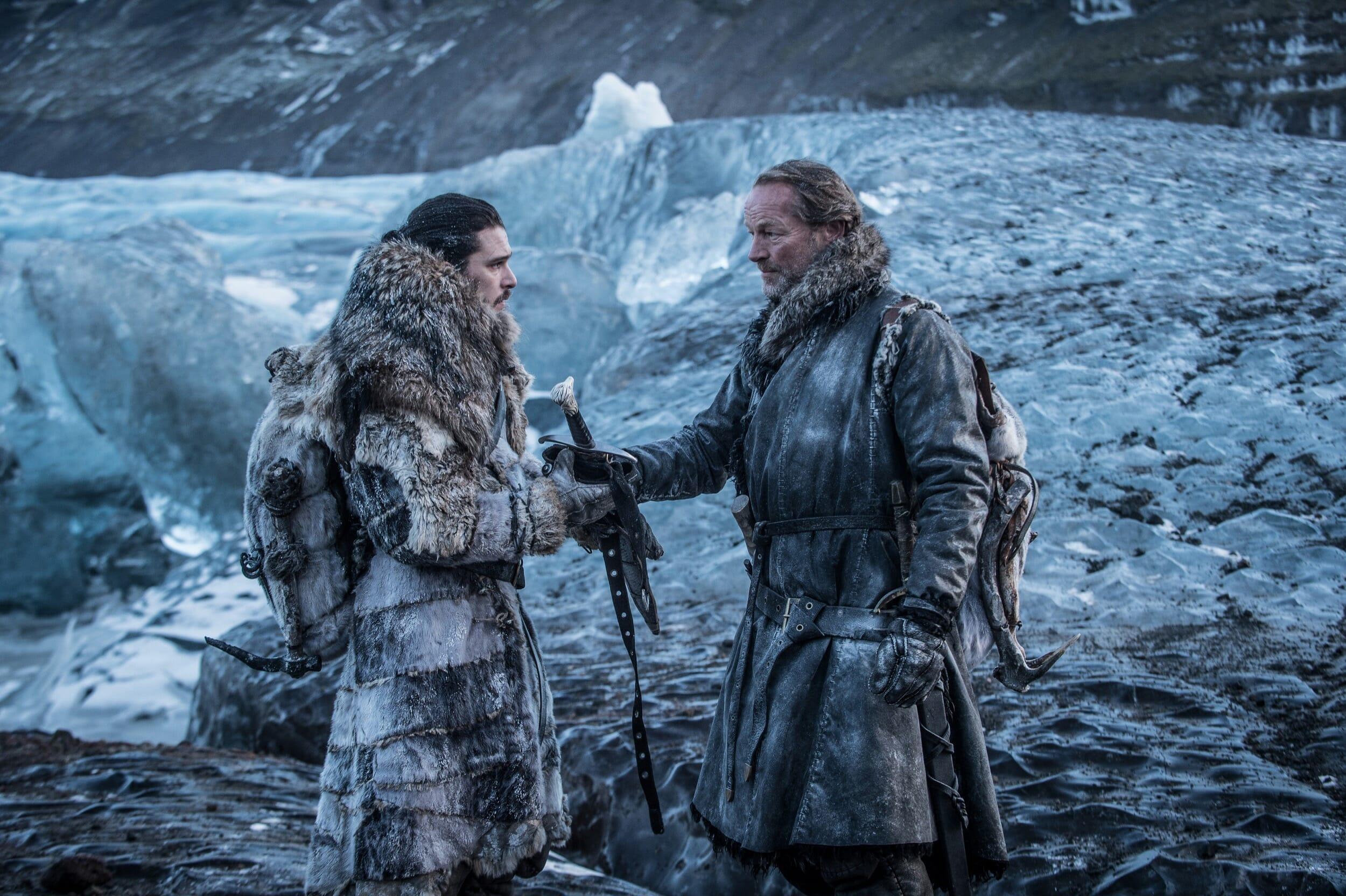 game of thrones jon snow jorah mormont