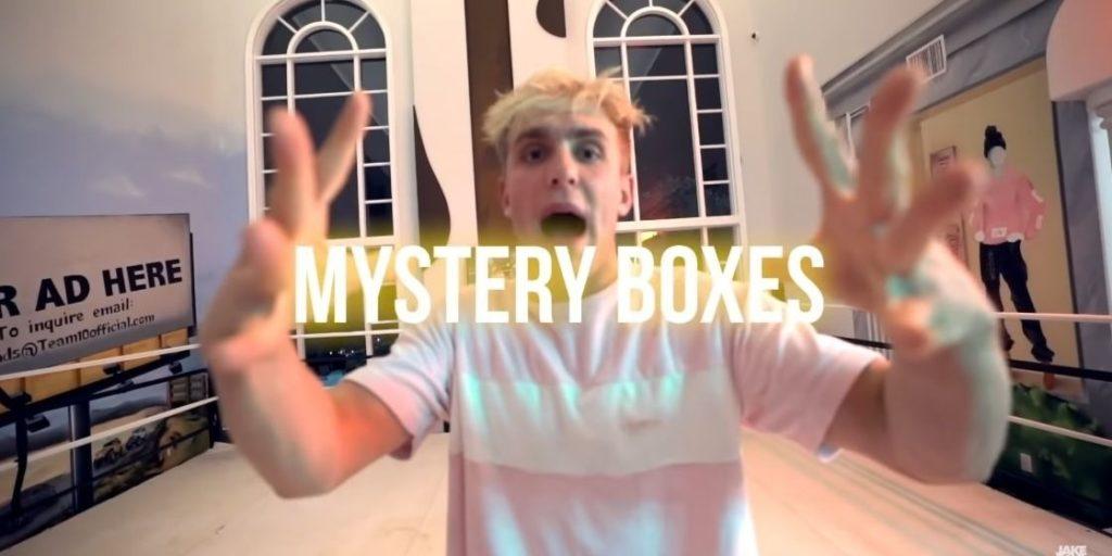 Jake Paul RiceGum YouTube mystery brand