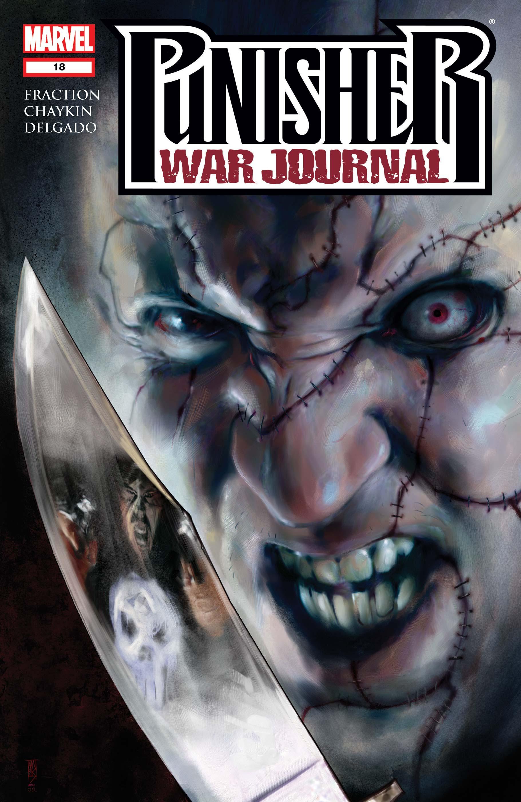 punisher war journal jigsaw