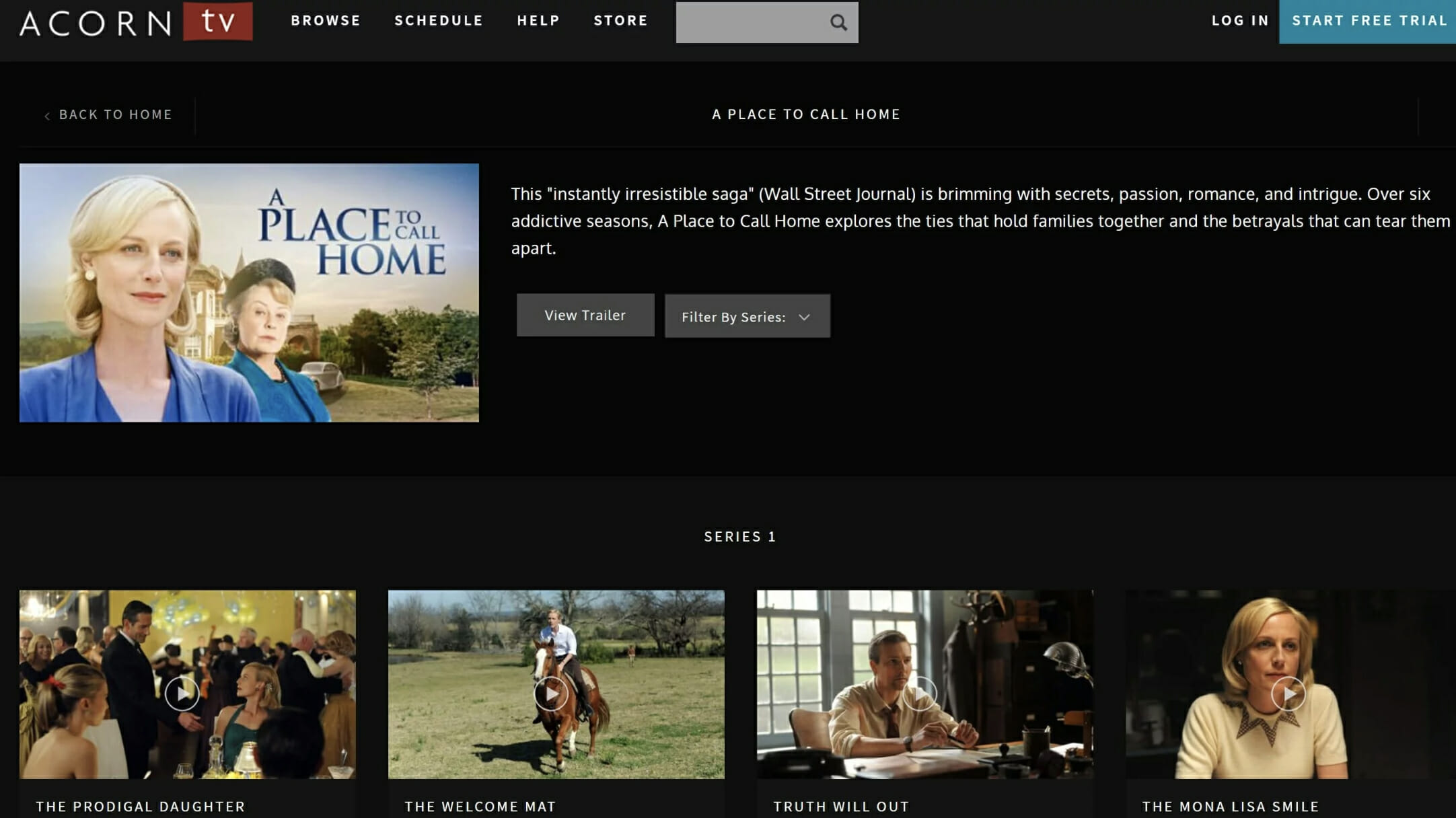 a place to call home series 1 buy online drama buy a place to call home how to watch a place to call home online acorn tv