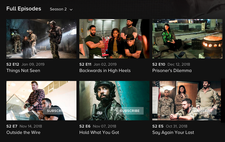 Watch SEAL Team Online for Free: How to Stream Season 2 & More